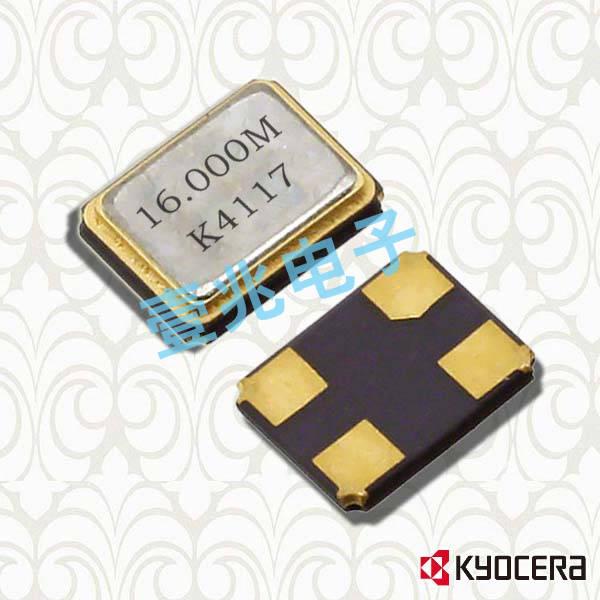 京瓷晶振,贴片晶振,CX1612DB晶振