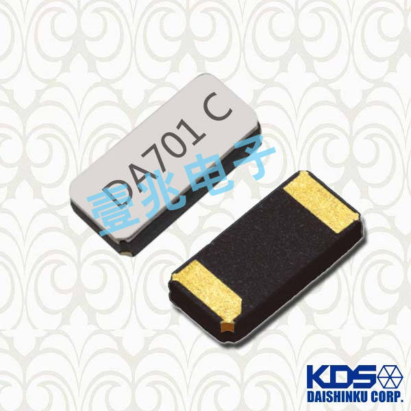 KDS晶振,贴片晶振,DST310S晶振,时钟石英晶振