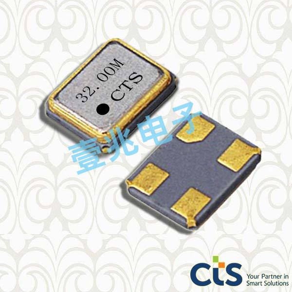 CTS晶振,贴片晶振,402晶振