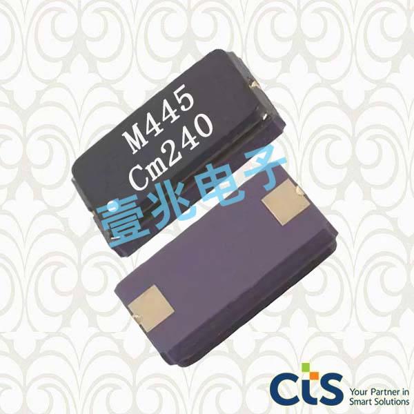 CTS晶振,贴片晶振,445晶振