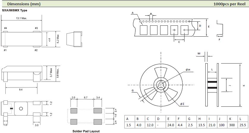 AEL晶振,贴片晶振,60639晶振