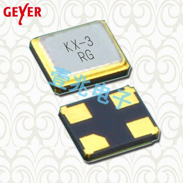 GEYER晶振,贴片晶振,KX-3T晶振