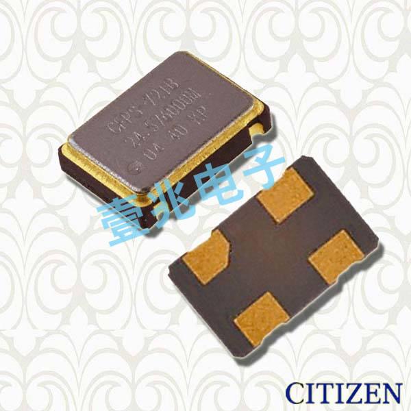 西铁城晶振,有源晶振,CSX-750F晶振,CSX-750FCC4000000T晶振