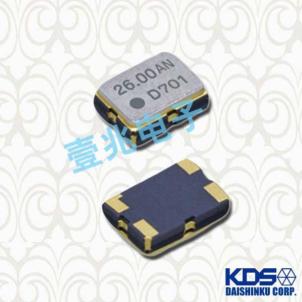KDS晶振,压控温补晶振,DSA321SDA晶振,1XTV10000CDA晶振