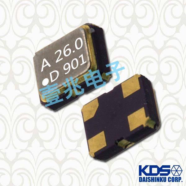 KDS晶振,压控温补晶振,DSA211SCM晶振,1XXC26000HBA晶振