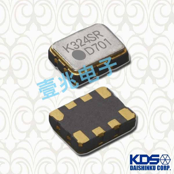 KDS晶振,温补晶振,DSB535SD晶振,1XTR25000VAA晶振