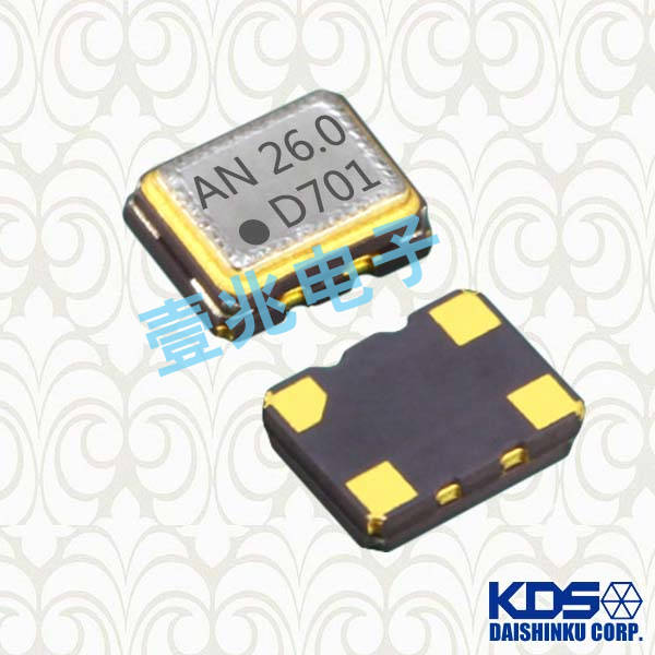 KDS晶振,温补晶振,DSB221SDM晶振,1XXB16368JFA晶振